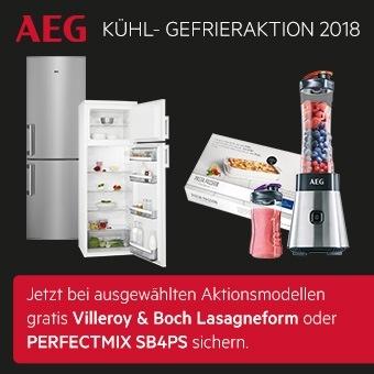 AEG Kühl-Gefrieraktion 2018