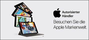 Besuchen Sie die Apple Markenwelt