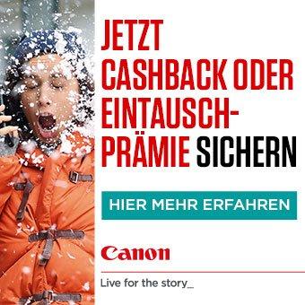 Canon Cashback Winter 2017