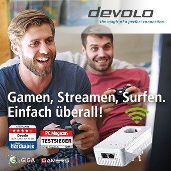 devolo - Gamen, Streamen, Surfen. Einfach überall!