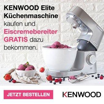 Gratis Eiscremebereiter für Ihre Elite Küchenmaschine