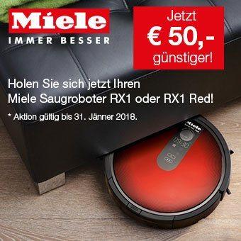 Jetzt den Miele Saugroboter Scout RX1 € 50,– günstiger!