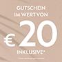 Maschine registrieren und Gutschein im Wert von 20 € erhalten
