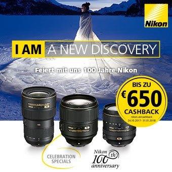 Nikon Cashback bis zu 650€