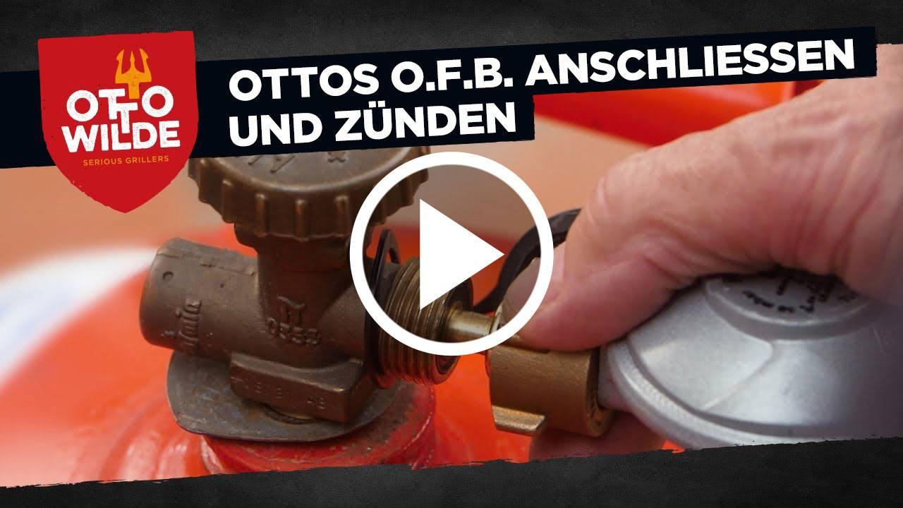 Ottos O.F.B. richtig an eine Gasflasche anschließen