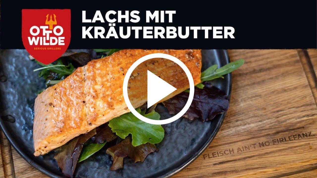 Fisch Rezept - Gegrilltes Lachsfilet vom Oberhitzegrill