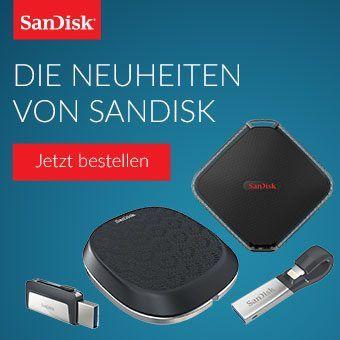 Die Neuheiten von SanDisk