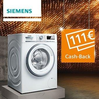 111 Euro Cash-Back auf eines der Extraklasse Aktions-Geräte sichern.