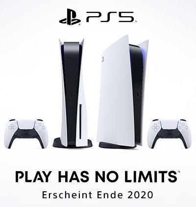 Die neue Sony PlayStation®5 - Erscheint Ende 2020