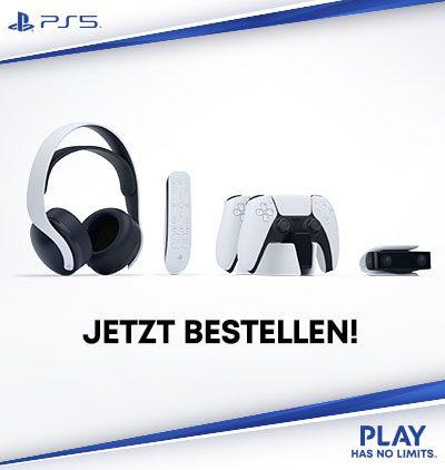 Zubehör für Ihre neue Sony PlayStation®5!