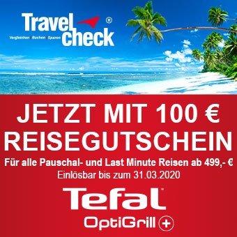 Jetzt mit 100 € Reisegutschein