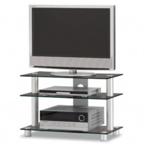 JUST-RACKS TV8553 AL BG SCHWARZGLAS