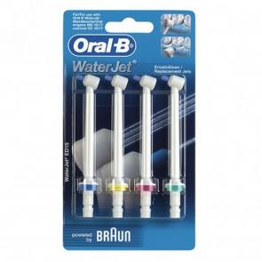 Oral-B 4er Waterjet Ersatzdüsen