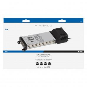 VIVANCO Multischalter 5/8 digital