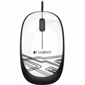 Logitech Mouse M105 White