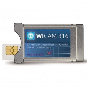 Wisi WICAM 316 CI+ für ORF + HD Austria