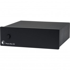 PROJECT PHONO-BOX S2 BLACK UNI