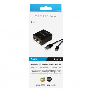 VIVANCO Digital-Analog Converter