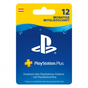 Sony PlayStation Plus 365 Tage Abo AT
