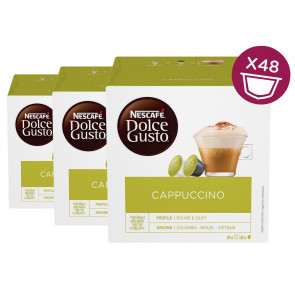 Nescafe Dolce Gusto Cappuccino 3er Pack