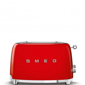 SMEG TSF01RDEU 2-Schlitz-Toaster Kompakt