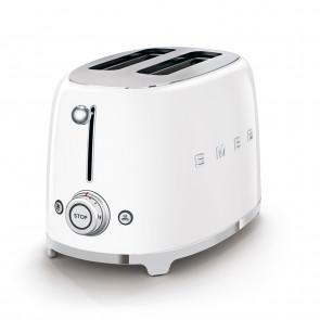 SMEG TSF01WHEU 2-Schlitz-Toaster Kompakt