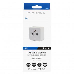 VIVANCO SAT Antennen Enddose