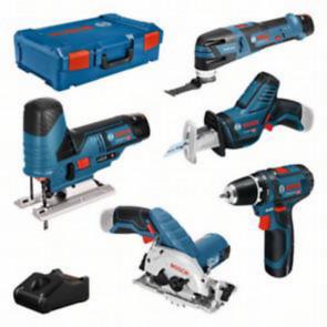Bosch 12V 5 tool KIT + GBA + GAL + XL-bo