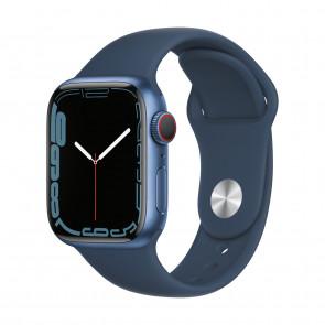 Apple Watch Series 7 LTE 41mm Blau