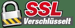 256bit SSL Verschlüsselung