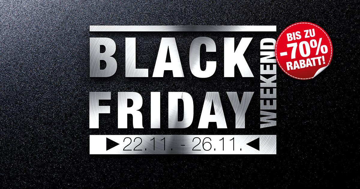Black Friday Weekend von 22.11. bis 26.11.2018 | Majdic